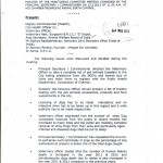 Minutes of the Mayors Meeting in Chennai Pg 1