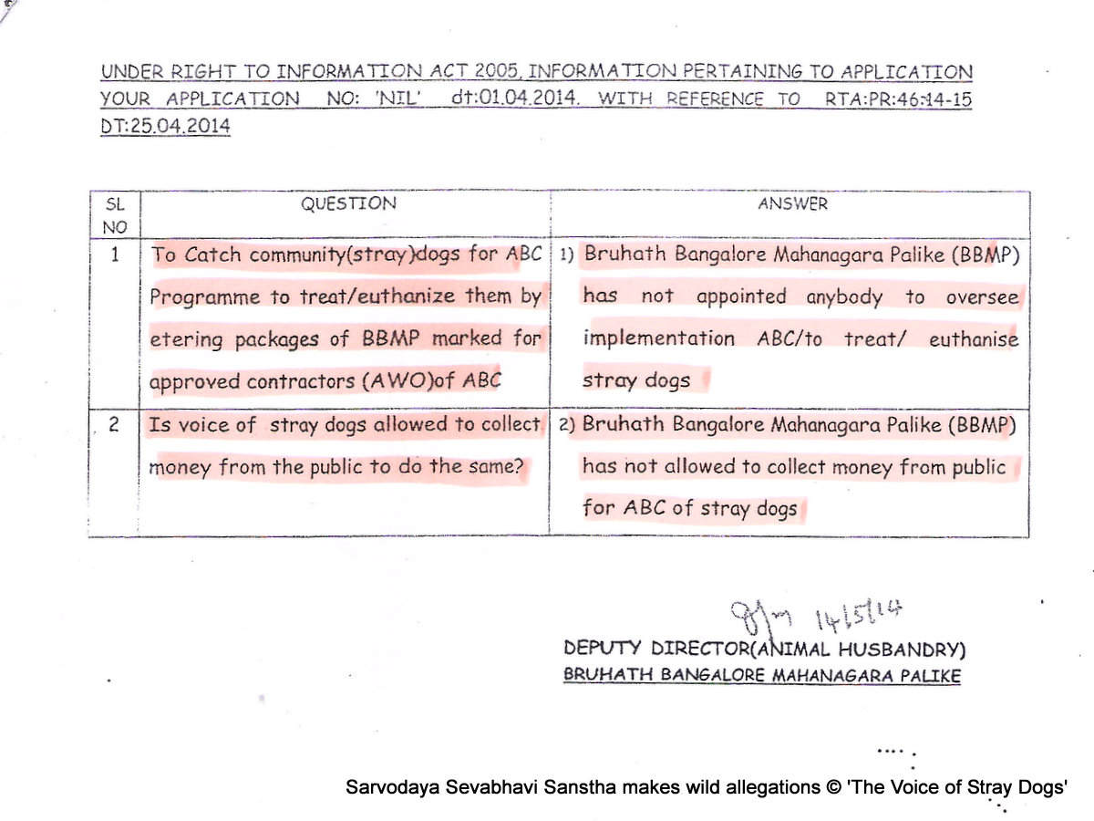 Sarvodaya rant and vendetta against VoSD page 14: VoSD does ABC? Really??